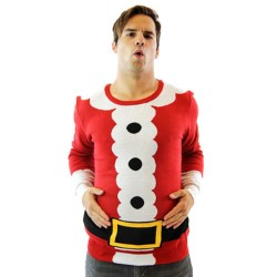 Santa Suit Sweater (Custom)