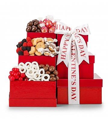 Chocolate Indulgence Valentine's Tower